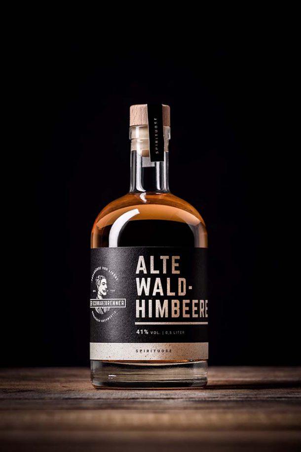 Alte Wald-Himbeere